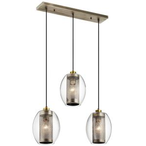 Asher - Three Light Linear Chandelier