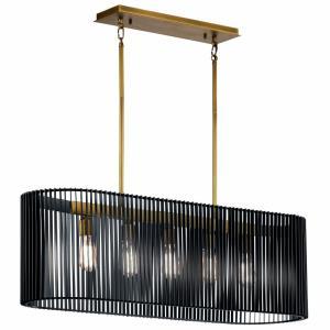 Linara - Five Light Linear Chandelier