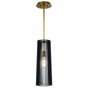 Linara - 1 light Pendant - with Contemporary inspirations - 17.75 inches tall by 6 inches wide