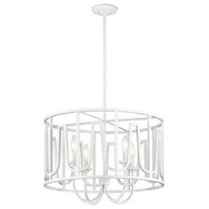 Sutton - Four Light Round Pendant