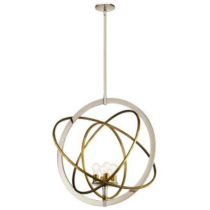 Ibis - 4 light Pendant - with Contemporary inspirations - 31 inches tall by 30 inches wide