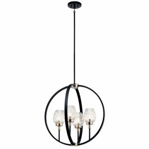 Moyra - Four Light Medium Chandelier