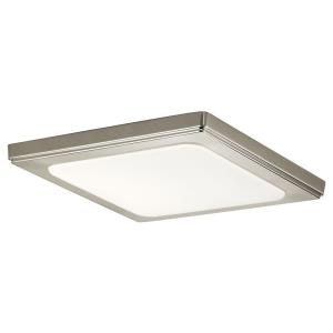Zeo - 10 Inch 18.5W 4000K 1 LED Square Flush Mount