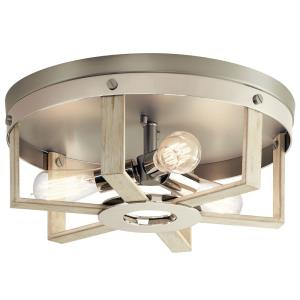 Peyton - Three Light Flush Mount