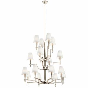 Kinsey - Sixteen Light 3-Tier Chandelier - with Transitional inspirations - 45.25 inches tall by 41.75 inches wide