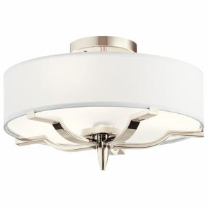 Kinsey - Three Light Flush Mount