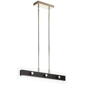 Tig - 45W 5 LED Linear Chandelier - 7 inches tall by 5 inches wide