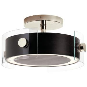 "Tig - 15.25"" 40W 1 LED Semi-Flush Mount"