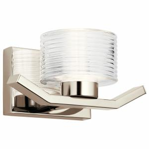 Lasus - 1 Light Wall Sconce - with Contemporary inspirations - 5 inches tall by 10.5 inches wide