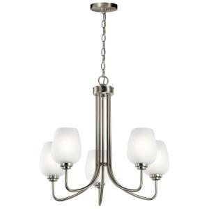 Valserrano - 5 light Meidum Chandelier - 22.75 inches tall by 24.25 inches wide