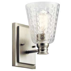 Nadine Transitional 1 Light Wall Sconce