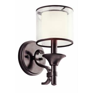 Family Space Transitional 1 Light Wall Sconce