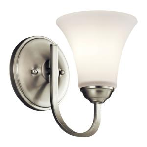 Keiran Transitional 1 Light Wall Sconce
