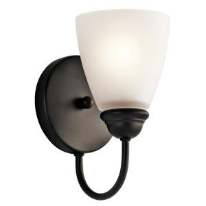 Jolie Transitional 1 Light Wall Sconce