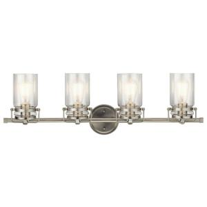 Brinley 4 Light  Bath Vanity Approved for Damp Locations