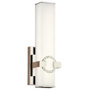 Bordeaux - 1 Light Wall Sconce - with Contemporary inspirations - 13.75 inches tall by 4.5 inches wide