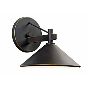 Ripley - One Light Outdoor Wall Bracket