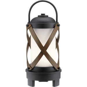 "Berryhill - 17.5"" 7W 1 LED Outdoor Bluetooth Portable Lantern"
