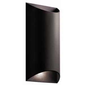 Wesley - 13.75 Inch 20W 2 LED Medium Outdoor Wall Lantern
