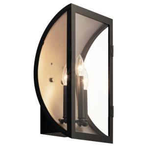 Narelle - Three Light XLarge Outdoor Wall Lantern