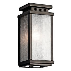Manningham - One Light Outdoor Small Wall Mount