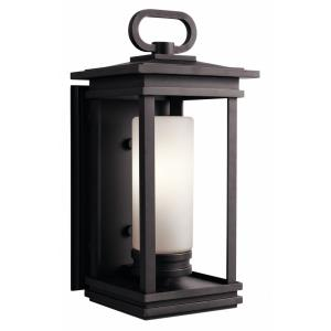 South Hope - One Light Large Outdoor Wall Mount