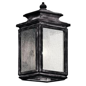 Wiscombe Park - One Light Outdoor Small Wall Mount