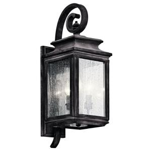Wiscombe Park - Three Light Outdoor Medium Wall Mount