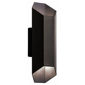 "Estella - 16.5"" 2 LED Outdoor Wall Mount"
