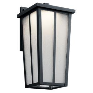 Amber Valley Transitional 1 Light Outdoor Wall Sconce