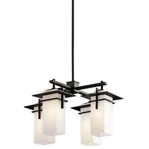 Caterham - Four Light Square Chandelier