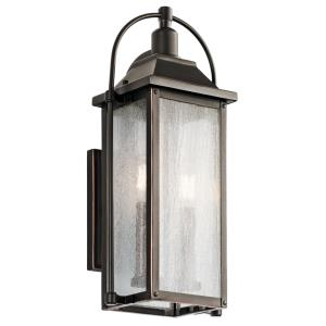 Harbor Row - Two Light Small Outdoor Wall Mount