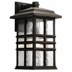 Beacon Square - One Light Large Outdoor Wall Sconce