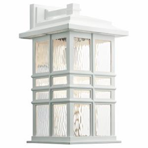 Beacon Square Arts and Crafts/Mission 1 Light Outdoor Wall Sconce