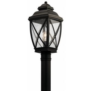 Tangier - 1 light Outdoor Post Lantern - 19.75 inches tall by 9.5 inches wide