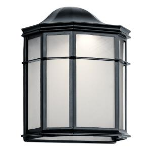 Kent - 9.75 Inch 7.5W 1 LED Medium Outdoor Wall Lantern
