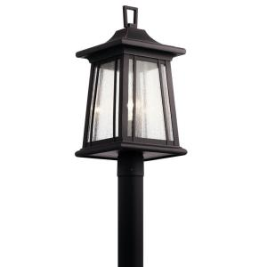 Taden - 1 light Outdoor Post Lantern - 21.5 inches tall by 10 inches wide