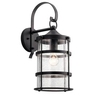 Mill Lane - 1 light Large Outdoor Wall Lantern - with Coastal inspirations - 21 inches tall by 9 inches wide