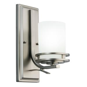 Hendrik - Contemporary 1 Light Wall Sconce - with Soft Contemporary inspirations - 12 inches tall by 5.25 inches wide