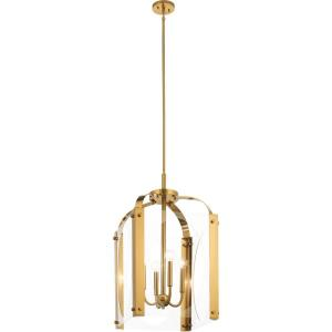 Pytel - 4 light Large Foyer Pendant - 16.5 inches wide