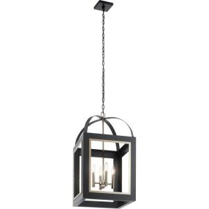 Vath - 4 light Large Foyer Pendant - 30 inches tall by 16 inches wide