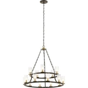Mathias - Fifteen Light 2-Tier Chandelier