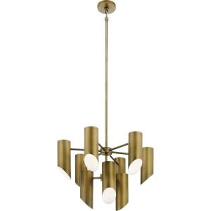 Trentino - 9 light 2-Tier Chandelier - 17.5 inches tall by 26 inches wide