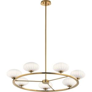 Pim - 7 light Large Chandelier - 36 inches wide