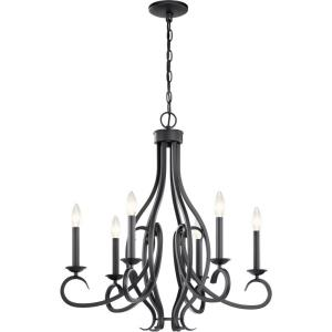 Ania - 6 Light Meidum Chandelier