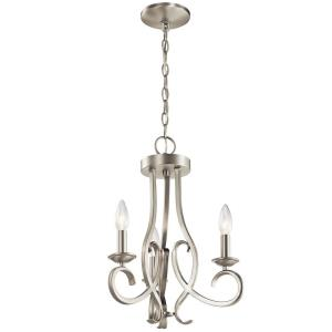 Ania - 3 Light Convertible Chandelier
