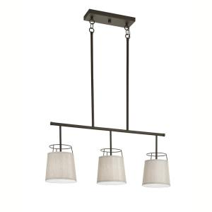Marika - Three Light Linear Chandelier