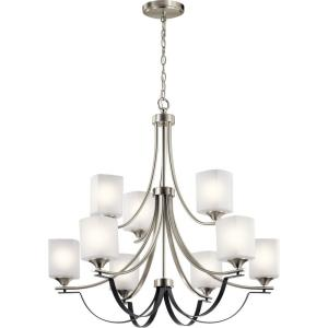 Tula - Nine Light 2-Tier Chandelier