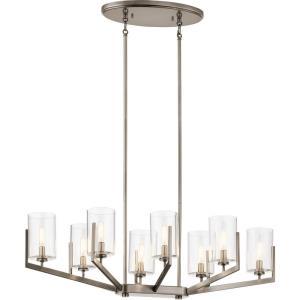 Nye - Eight Light Oval Chandelier