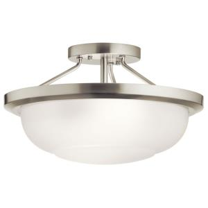 Ritson - 2 Light Semi-Flush Mount - 13.5 inches wide